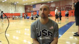 Shaka Smart Interview at USA Basketball U19 World Championship Tryouts