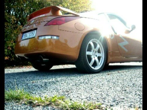 Mikecars - roadshow, part Nissan 350Z (Orange)
