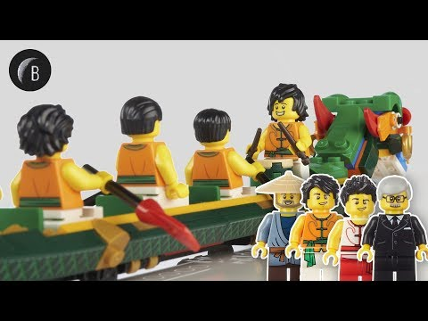 LEGO 80103 - Dragon Boat Race - Seasonal - Speed Build Review