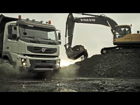 Грузовики Volvo Trucks - The new Volvo FMX in action