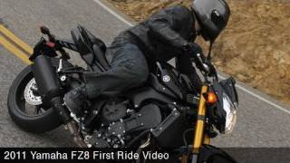 9. MotoUSA First Ride:  2011 Yamaha FZ8