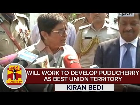 Will-Work-To-Develop-Puducherry-as-Best-Union-Territory--Kiran-Bedi-Lt-Governor