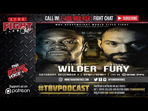 🚨Live Deontay Wilder vs Tyson Fury Pay-Per-View Fight Chat ❗️