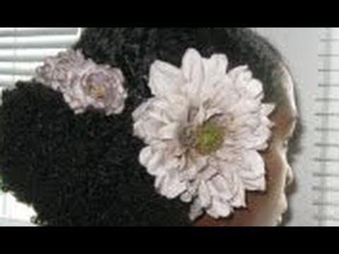 """Wedding Hair Style Tutorial """"Natural Hair"""""""