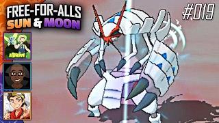 Pokémon Sun & Moon FFAs #019 Feat. aDrive, JayYTGamer & FeintAttacks!! by King Nappy