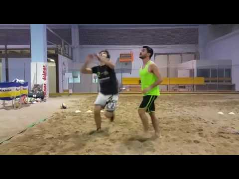 I segreti del beach volley: seconda lezione VIDEO | Mosciano
