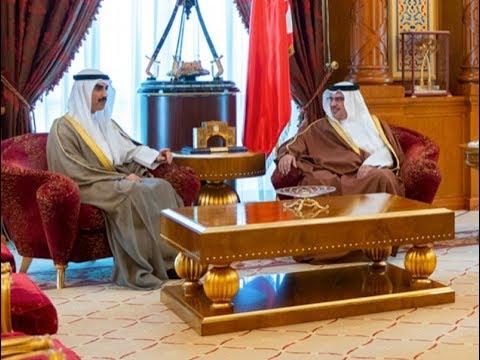 سمو ولي العهد يلتقي السفير الكويتي بمناسبة تعيينه