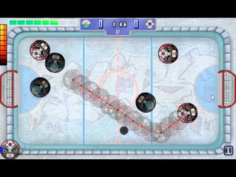 Video of Finger Ice Hockey