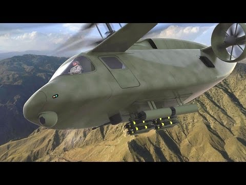 AVX Aircraft - Compound Coaxial Helicopter (CCH) Simulation [1080p]
