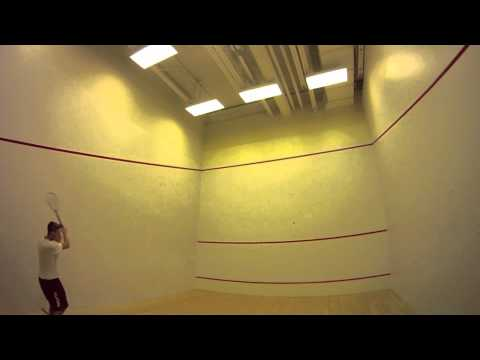 First Person Squash Badminton & Tennis