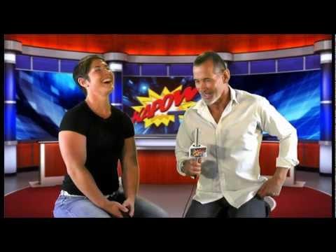 Richard Norton Kapow TV interviews Kortney Olson - World Record Holder