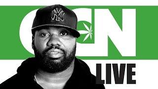 Cannabis Culture News LIVE: Raekwon The Chef on Music and Marijuana by Pot TV