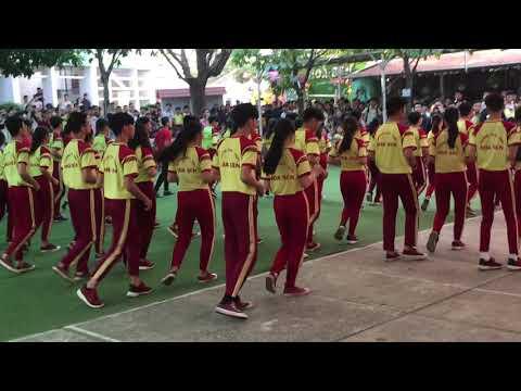 Khiêu vũ đồng diễn cha cha cha - CS1 - Trường THCS & THPT Hoa Sen Q9