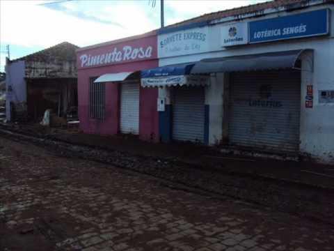 enchente em Sengés,Parana.wmv