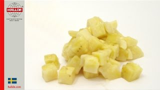 Banana: Dicing Grid 10×10 mm