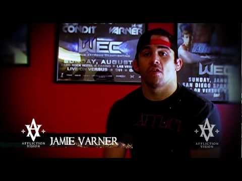 Jamie Varner Interview and Trains for WEC 49