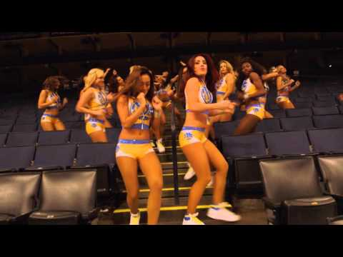 Warriors Dance Team Running Man Challenge