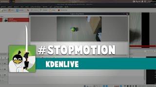 StopMotion Kdenlive
