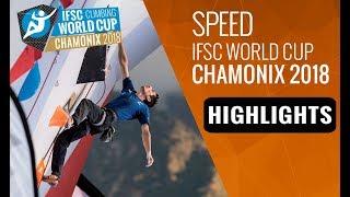 IFSC Climbing World Cup Chamonix 2018 - Speed Finals Highlights by International Federation of Sport Climbing