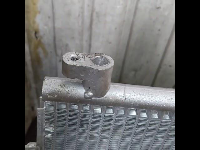 Китайский радиатор кондиционера