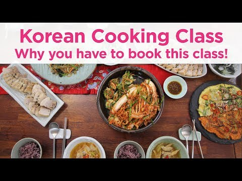 Traditional Korean Food Cooking Class And Local Market Tour In Seoul