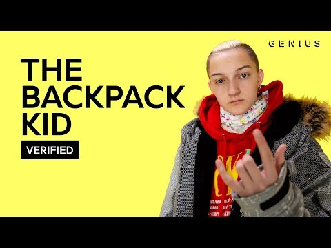 """The Backpack Kid """"Flossin"""" Official Lyrics & Meaning 