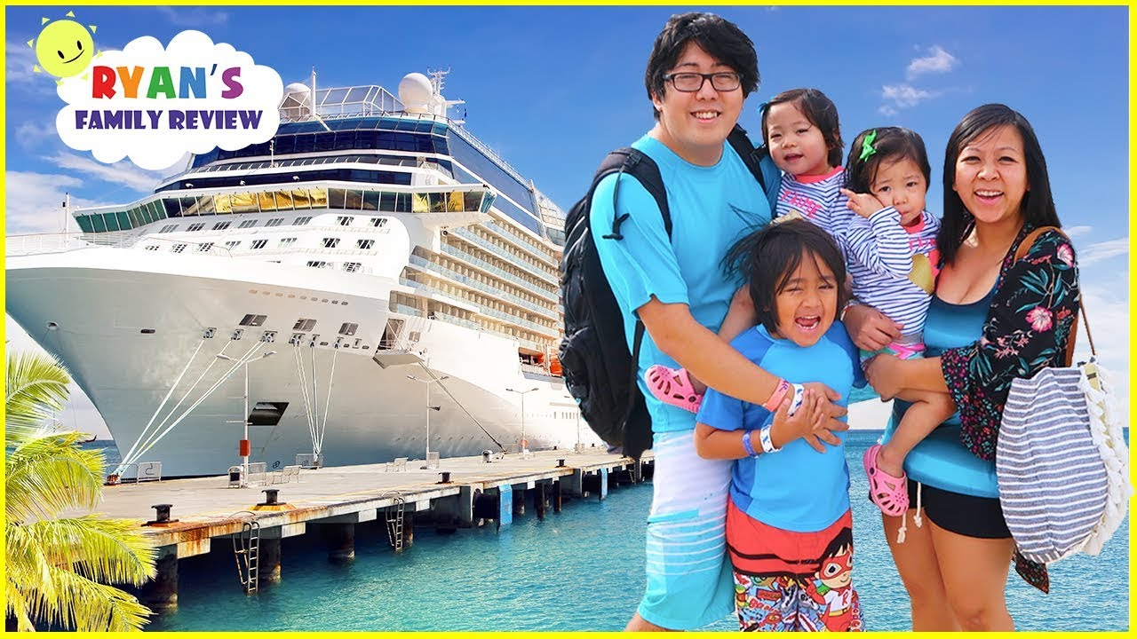 We're going on a Cruise!!! Family Fun Vacation Trip with Ryan's Family Review!! - YouTube