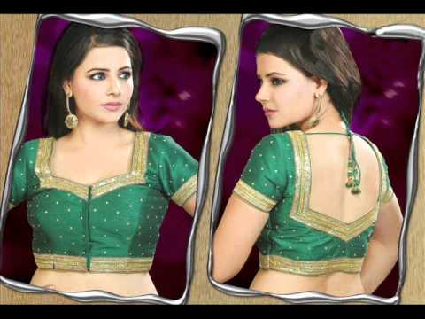 how to make saree blouse back fashion part 1