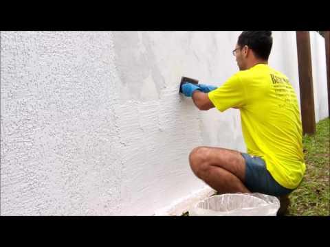 Grafiato em muro