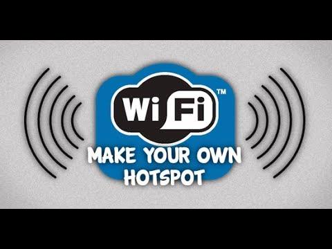 Как сделать точку доступа wifi из своего компьютера windows 10