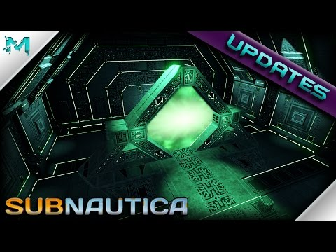 Subnautica UPDATES! Teleporter Caches, Ghost Leviathan Updates, And Drillable Models In Game! (видео)