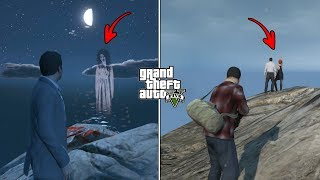 What Happens If You Visit The Ghost Location During Prologue in GTA 5? (Hidden Secret)