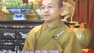 Tự do trong đạo Phật - Phần 1/2 - Thích Nhật Từ