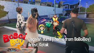Video BoBoiBoy OST: Kotak - Jagalah Bumi (Theme from BoBoiBoy) MP3, 3GP, MP4, WEBM, AVI, FLV Juni 2018