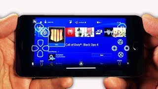 Playing PS4 on iPhone… (IT'S REAL!)