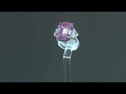 """Πωλήθηκε σε τιμή – ρεκόρ το """"ροζ διαμάντι"""""""