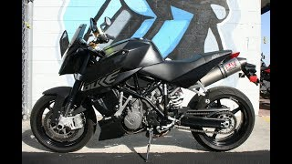 10. 2008 KTM Super Duke 990 ... Sounds great with Yoshimura Exhaust
