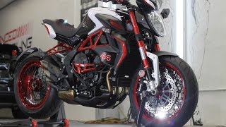 8. MV Agusta Dragster Brutale Lewis Hamilton Edition/ Ceramic Pro by Advanced Detailing