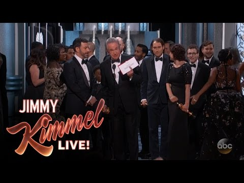 Jimmy Kimmel Explains the 2017 Oscars Best Picture