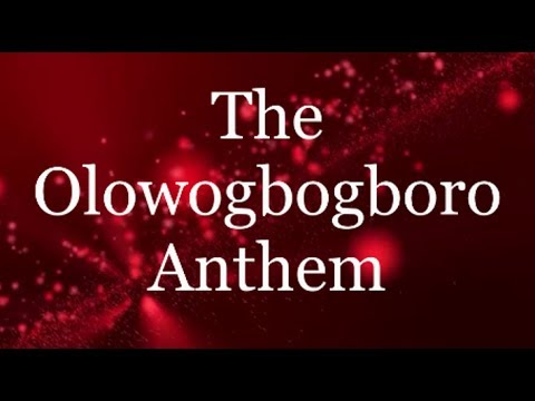 The Olowogbogboro Anthem - Nathaniel Bassey ft Wale Adenuga