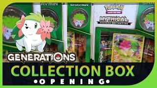 Family Pokemon TCG Mythical Shaymin Collection Box Opening Battle ! SUPER EPIC PULLS! by Papa Blastoise