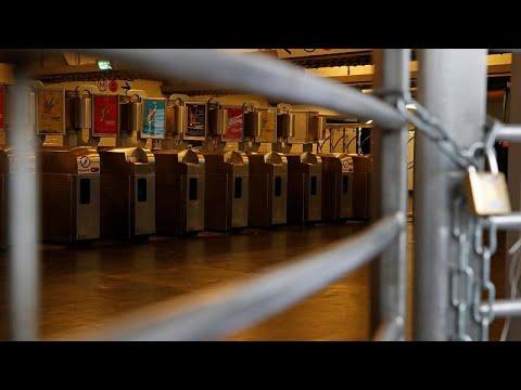 Frankreich: Streik gegen Rentenreform - Paris lahmgel ...