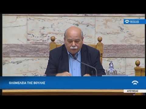 Ομιλία του Προέδρου της Βουλής κ.Νίκου Βούτση (Εξέγερση του Πολυτεχνείου) (17/11/2017)