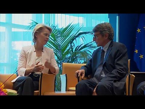 Οι νέοι πρόεδροι του Ευρωπαϊκού Κοινοβουλίου και της Κομισιόν…