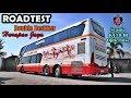 ROADTEST BUS TERNYAMAN Double Deckker Harapan Jaya Scania K410