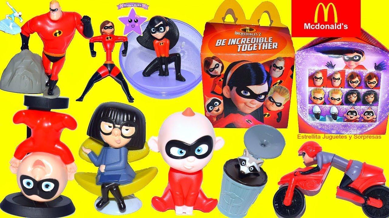 Download Los incredibles 2 Juguetes de Mc Donalds Cajita ...
