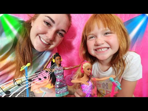 Barbie DREAMS BiG with Adley & Mom!! Music Concert and a Day in the City with 2 new BEST FRiENDS!