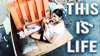 Video POVERTY IN THE PHILIPPINES   16 Year old Girl living on the Streets of Manila with a Newborn Baby! MP3, 3GP, MP4, WEBM, AVI, FLV Oktober 2017
