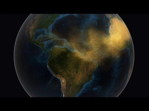 NASA | Satellite Tracks Saharan Dust to Amazon in 3-D