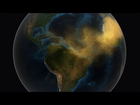 Satellite Tracks Saharan Dust to Amazon in 3D
